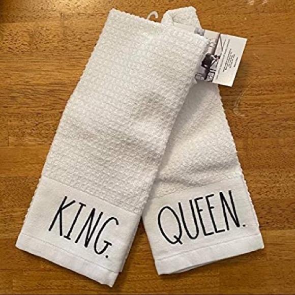 "👛 Rae dun ""king"" ""queen"" kitchen towels"